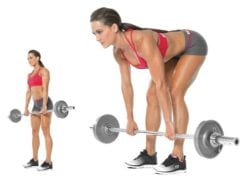 Deadlifts with Dumbbells vs Barbell - Barbell Deadlift